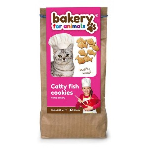 Bakery for animals - Catty fish cookies